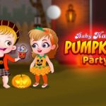 Baby Hazel Pumpkin Party