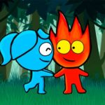 Red boy and Blue Girl Forest Adventure